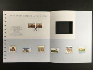 GERMANY ART-EDITION 2010/03 2773 LIMBURG AN DER LAHN BRÜCKE UNISSUED DESIGNS!!