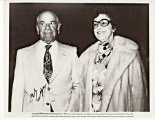 Frank Capra IAWL It's A Wonderful Life Autograph Hand Signed 8x10 B&W Photo