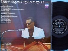 Ray Charles ORIG OZ LP World of Ray Charles EX London SPA361 R&B Soul