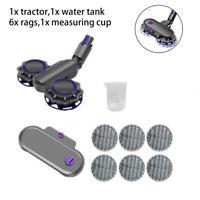 Vacuum Cleaner Electric Wet & Dry Mop Head + Mop Cloth For Dyson V7 V8 V10 V11