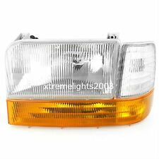 NEWMAR KOUNTRY STAR 1999 2000 2001 LEFT DRIVER HEADLIGHT SIGNAL LIGHTS 3PC RV