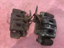 Mitsubishi pajero swb 2.8 pair of front brake callipers