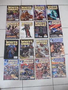 Lot magazine white dwarf / jeux de rôle / games workshop version française
