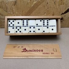 Vintage Dominoes - Boxed - Set of 28 - Double Six