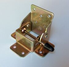 2 x Folding Table Leg Brackets Fittings Self Lock Foldable DIY