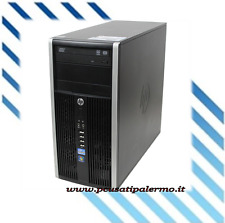 PC COMPUTER FISSO USATO GARANTITO HP PRO 6200 TOWER PENTIUM G 2/250 GB W7P STOCK