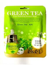 Korean Essence Facial Mask Sheet, Moisture Green Tea Mask Pack / FAST SHIPPING