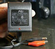 PEI Class 2 G Transformer Model 41D-12-500L w/battery clips Garmin FishFinder