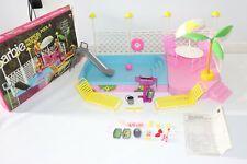 Barbie Tropical Pool and Patio Set Playset 3041-0970 Mattel Vintage 1986 w/Box