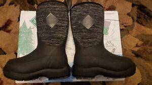 Muck Boot Muck Element Heathered Waterproof Kids Boots Mid Calf Size C7