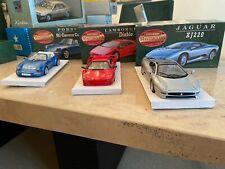 1:24 Matchbox Masterclass Collection Set of 3 ; Jaguar, Porsche, Lamborghini