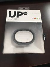 BNIB UP 24 BY JAWBONE WIRELESS BLUETOOTH WRISTBAND ONYX SIZE L
