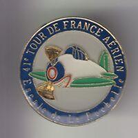RARE PINS PIN'S .. AVION PLANE AIRLINES TOUR DE FRANCE AERIEN LA ROCHELLE 17 ~C9