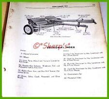 John Deere Hay Conditioner Parts Catalog Pc502 Dealership Copy Usa Mower