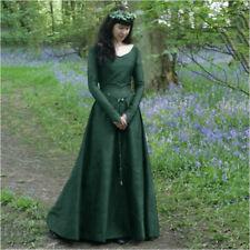 Medieval Victoria Halloween Cosplay Costumes Women Renaissance Princess Dresses