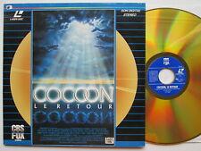 LD LaserDisc  COCOON  LE RETOUR 1988 CBS FOX   AUSTRIA