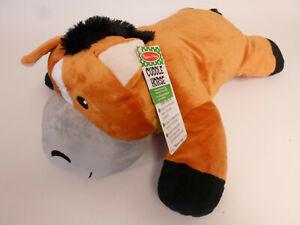 "Melissa & Doug Cuddle Horse 28"" Large Plush Stuffed Animal Pillow"