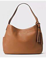 New Michael Kors Ashbury Tan (Luggage) Leather Hobo Shoulder Bag