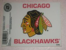 Chicago Blackhawks NHL Hockey Reusable Static Cling Window Decal Sticker