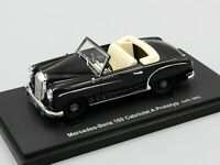 Autocult 1:43 Mercedes 180 Cabriolet A Prototyp, black, Germany, 1953