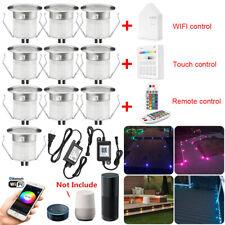 Wifi/Bluetooth 30mm 12V Rgb Led Deck Rail Patio Kitchen Step Lights Waterproof