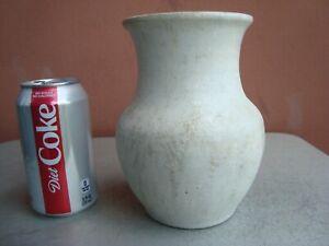 """Pisgah Forest Stephen 6.75"""" White Crystalline Vase 1947"""