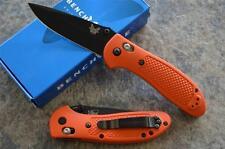 Benchmade 551BK-ORG Griptilian Folding Knife  Axis Lock & 154CM Stainless Blade