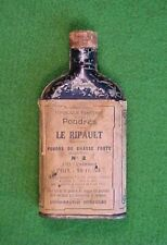 Antique French Powder Gunpowder Tin - Poudres Le Ripault No. 2
