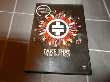 TAKE THAT The Ultimate Tour - live in Manchester - region 0 DVD