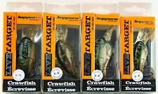 Live Target Koppers Crawfish Crankbait Series Lures 5'-6' 6'-8' & 8'-10' Divers