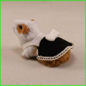 Hamster Guinea-Pig Harness Vest Cloth with Bow Decoration for Bunny Small Pet