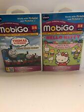 Vtech MobiGo Cartridge for Tangled and Hello Kitty Birthday Party, New, B101