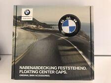 BMW OEM GENUINE FLOATING CENTER CAPS SET! G01 G05 G11 G20 G30
