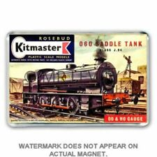 RETRO 60's KITMASTER 060 SADDLE TANK   KIT  ARTWORK JUMBO Fridge / Locker Magnet