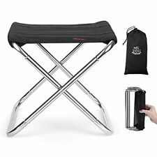 New listing DEERFAMY Large Ultralight Camping Stool with Carrying Bag, Hold up to 200lbs,