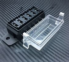 1Pc 6 Way DC32V-12v Circuit Blade Fuse Box Block Fuse Holder MINI ATC ATO HMATC6