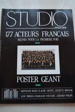 STUDIO MAGAZINE N°12 MARS 1988 BLIER SAUTET BINOCHE BIRKIN COUTURE G. PHILIPE