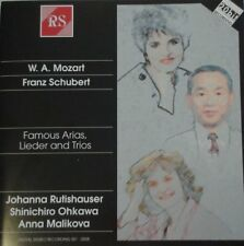 CD Mozart - Schubert - Rutishauser Ohkawa Malikova