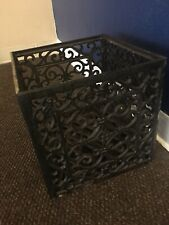 New listing Antique Cast Iron Ornate Rectangular Planter , Crate Super Rare