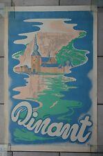 """Affiche """" Dinant """" par Jean Dratz (1948)"""