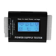 Digital LCD PC Computer PC Power Supply Tester 20/24 Pin SATA HDD Testers SN