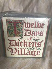 Dept 56 Heritage Village Twelve Days Of Dickens' Village Five Golden Rings Nip
