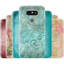 Dessana Vintage Pattern TPU Silicone Protective Cover Phone Case Cover For LG