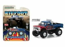 GREENLIGHT 51282 1/64 FORD F250 BIGFOOT BLUE AND RED EDITION