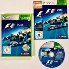 Microsoft Xbox 360 juego formula one f1 2012 dt. PAL OVP racing/rennspiel/Fórmula