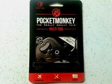 POCKET MONKEY WALLET SIZED MULTI-TOOL * NEW * ZOOTILITY TOOLS Screwdriver Wrench