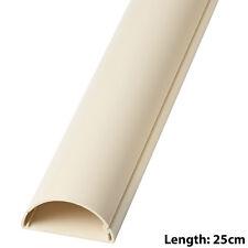 25 cm – 50 mm x 25 mm MAGNOLIA Scart/Cavo Dati coperchio della canalizzazione/Tubo Protettivo – MURO AV