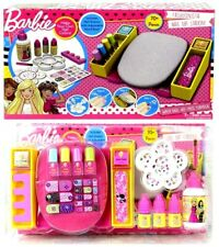 Barbie Fashionista Nail Art Station Make Your Own Varnish Colour New Girls Toy