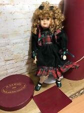 Vintage H Samuel Porcelain Doll Collection Christmas 1999 Limited Edition