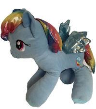 "My Little Pony Rainbow Dash Soft 18"" Plush Iridescent Mane, Tail, Wings.   V"